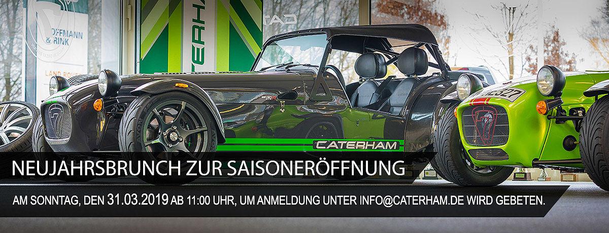 Neujahrsbrunch bei CATERHAM Deutschland in Dierdorf …